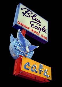 blue eagle cace