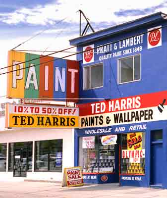 ted harris paint